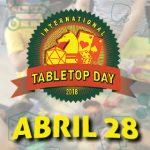 Reserva el 28 de Abril para una nueva versión del día internacional del juego de mesa!